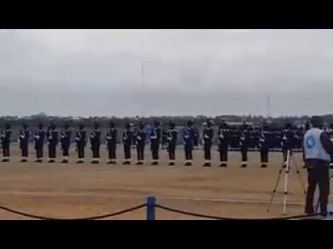AFMS JOS P.O.P (Passing Out Parade) Silent drill