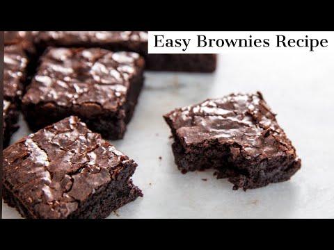 Easy Brownies Recipe