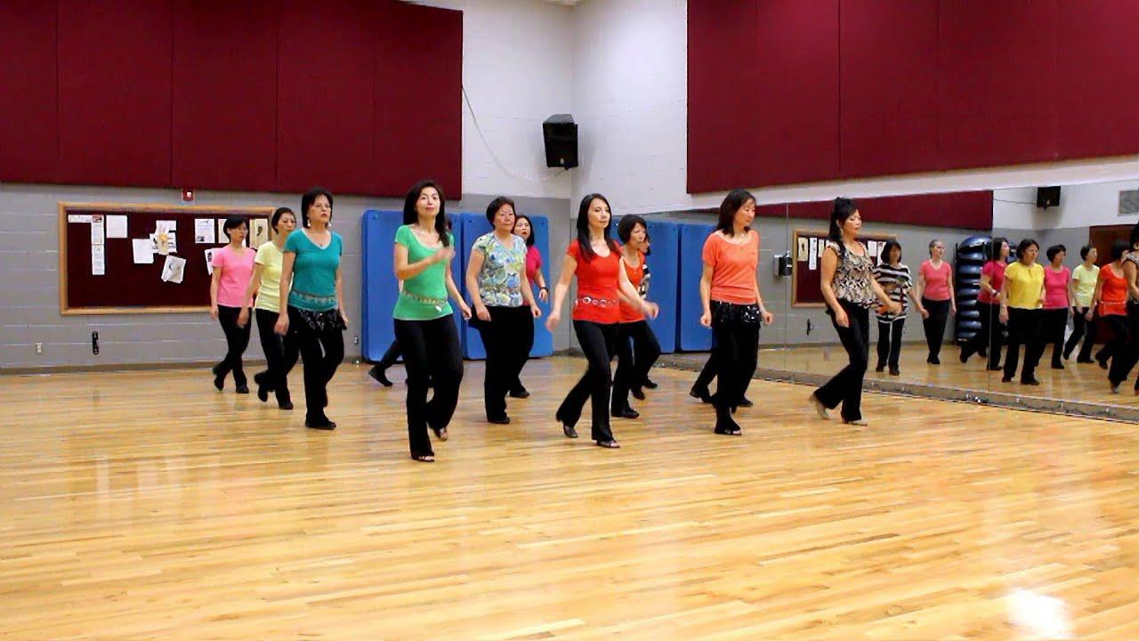 My love viva line dance step sheet