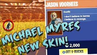 SUPER SCARY HAUNTED MIKE MYERS *BRAND NEW SKIN* FORTNITE BATTLE ROYALE