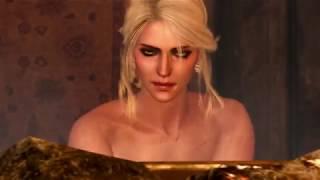 Ведьмаг 3 / Witcher 3. Цири в бане без полотенца / Naked Ciri in the sauna