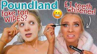 I only used POUNDLAND BEAUTY for 24 HOURS! 😬fake tan WIPES?!