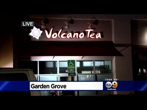 Employee Locks Murder Suspect Inside Garden Grove Tea Shop