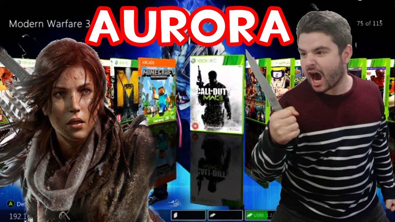 Juegos De Xbox 360 Con Aurora Por Usb Rgh Youtube