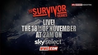 "WWE: Survivor Series 2012 Official Theme ""Now or Never"" [CDQ + Download Link]"