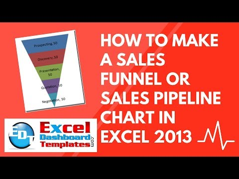How to Make a Sales Funnel or Sales Pipeline Chart in Excel 2013