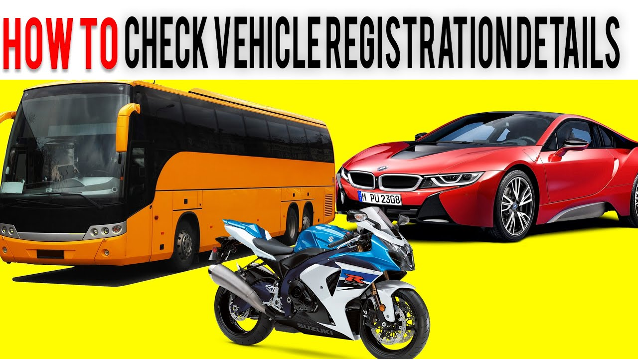 How to check Vehicle registration details via SMS - YouTube