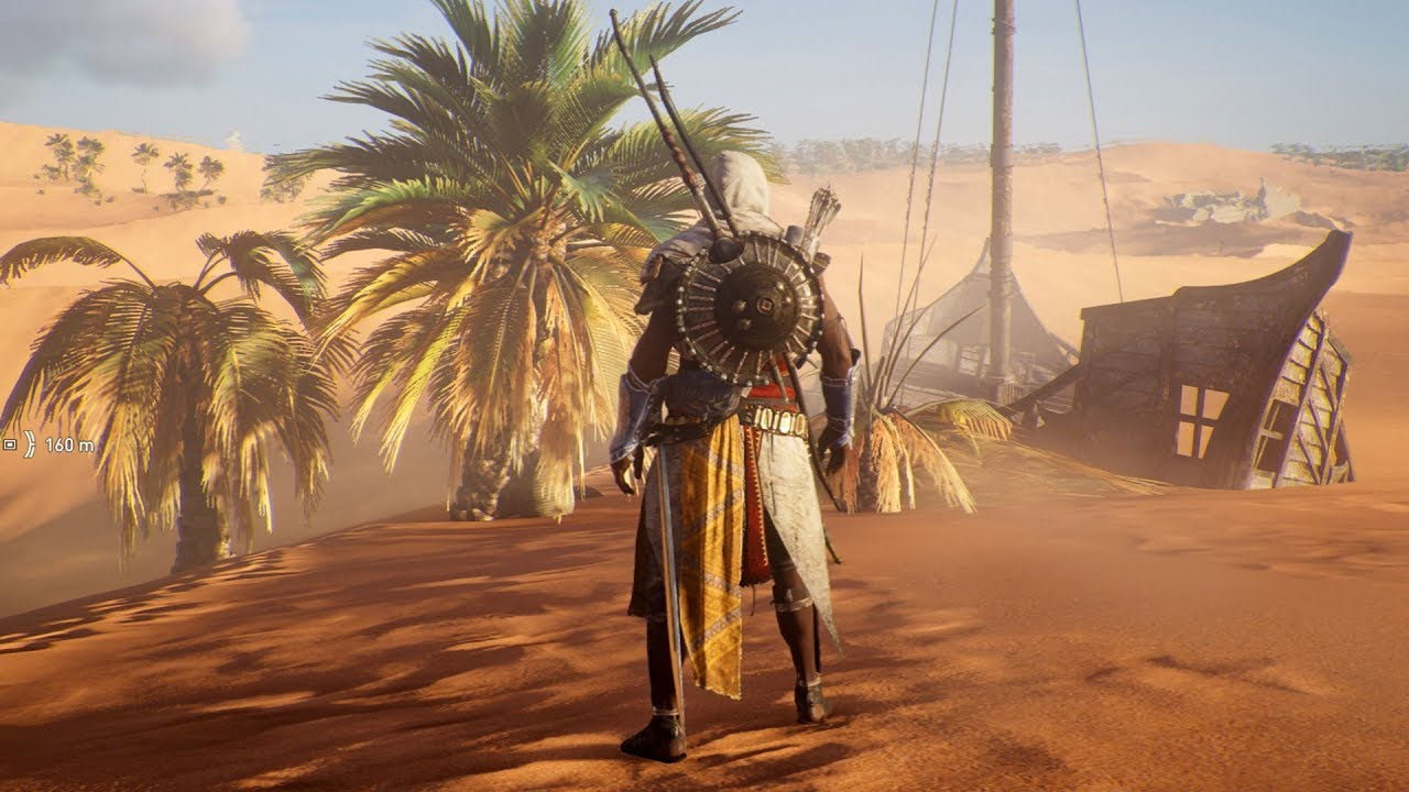 In S Creed Origins Sea Of Sand Papyrus Mystery Location Pc Hd 1080p60fps