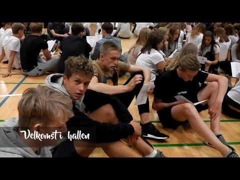 Første skoledag på Berns 2017