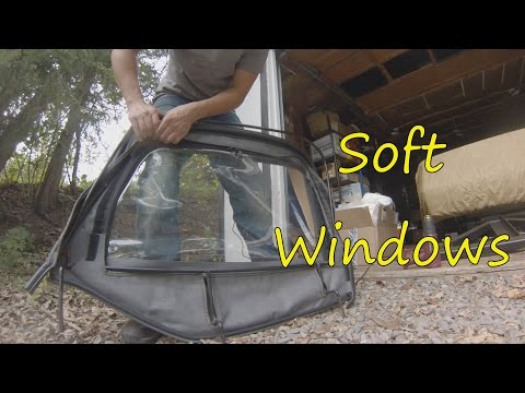 Project TJ Wrangler: Ep 27- Soft Window Replacement