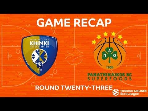 Highlights: Khimki Moscow region - Panathinaikos Superfoods Athens