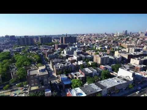 Flying my Drone over Brooklyn  hood