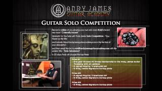 Andy James Guitar Academy - Exclusive NEW track