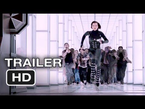 Resident Evil Retribution Trailer #2 - Milla Jovovich, Paul WS Andersen (2012) HD