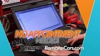 Get the Romano Signature Service Experience at Romano Volkswagen