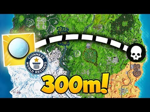 LONGEST EVER SNOWBALL THROW! - Fortnite Funny Fails and WTF Moments! #438