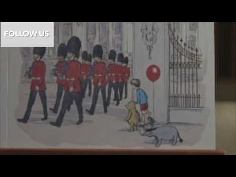 Winnie the Pooh meets the Queen