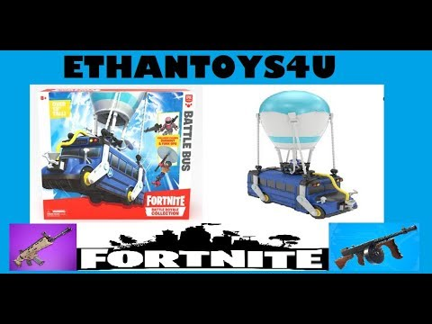 FORTNITE BATTLE BUS MOOSE TOYS EXCLUSIVE & SOLO PACKS WITH RARE CHARACTERS