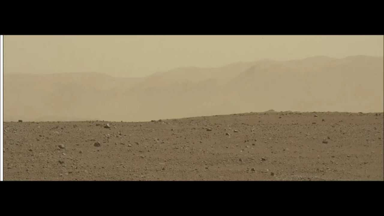 Mars Rover Curiosity Captures Images of UFO - YouTube
