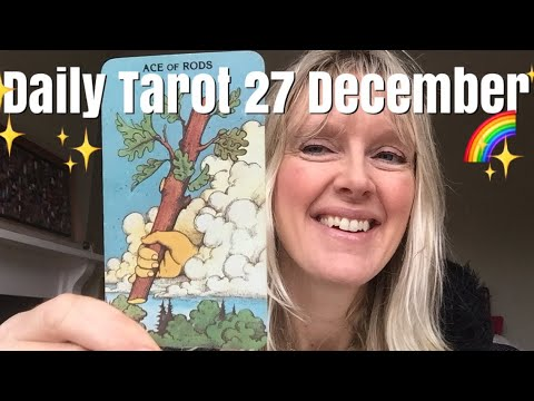Daily Tarot 27 December 2017 🙏✨ A Cosmic Offering! 🙏✨
