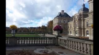Outono em Paris  - JARDIM DE LUXEMBURGO