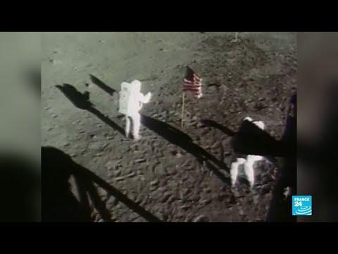 Apolo 11: módulos lunares, la cara oculta de la bandera
