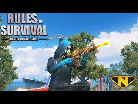 The *NEW* Death Stalker M4A1 (Rules of Survival: Battle Royale #89)