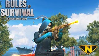 The *NEW* Death Stalker M4A1 (Rules of Survival: Battle Royale)