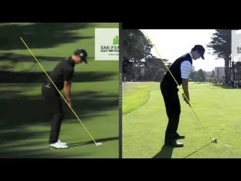 Adam Scott Golf Swing compared to the model swing by Craig Hanson