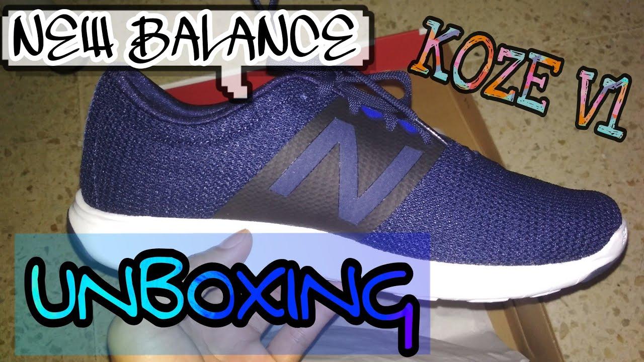 07f23d0406ee0 UNBOXING NEW BALANCE KOZE V1 INDONESIA - YouTube