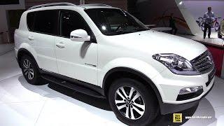 2015 Ssang Yong Rexton Rx200 Diesel - Exterior And Interior Walkaround - 2014 Paris Auto Show