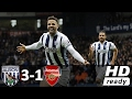 West Bromwich Vs Arsenal 3-1 - All Goals And Highlights - Premier League 2017 HD