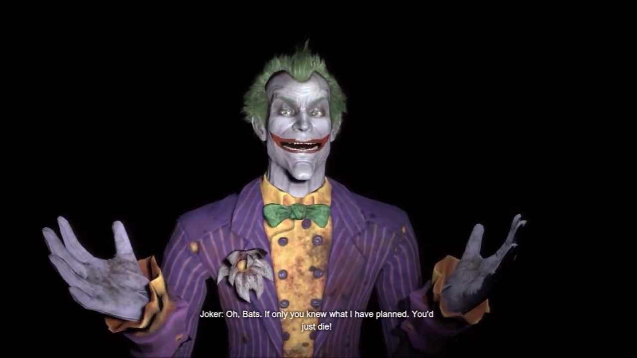 Batman Arkham City: Joker Game Over HD - YouTube