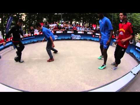 European Panna 2vs2 Championship 2014: Soufiane Bencok & Ilyas Touba vs Team France