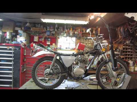 1972 honda sl 125, ride and repair,