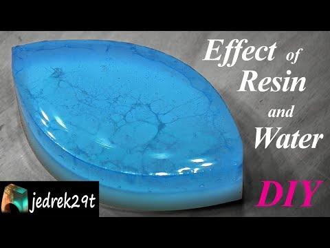 DIY Effect of Resin and Water/Ciekawy Efekt z Żywicy i Wody