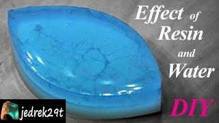 DIY Effect of Resin and Water/Ciekawy Efekt z Å»ywicy i Wody