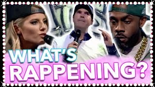 LET THE RAP BATTLE BEGIN! Richard Blackwood, Jimmy Carr & Mollie King! | Celeb Juice 2017