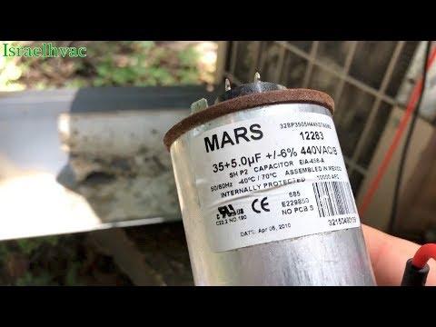 Bad HVAC Capacitor | I Make a Big Mistake