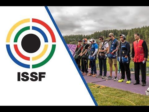 Trap Men Junior Final - 2017 ISSF World Championship Shotgun in Moscow (RUS)