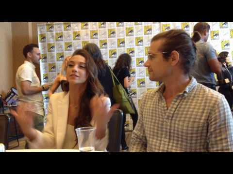 The Magicians  Jason Ralph & Stella Maeve   SDCC 2017