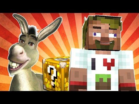 Видео, ч.03 Lucky Block Wars Minecraft - Ослиный наезник, ЧТОООО