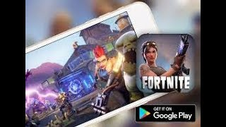Left! OFFICIAL FORTNITE FOR ANDROID-DOWNLOADS!!!