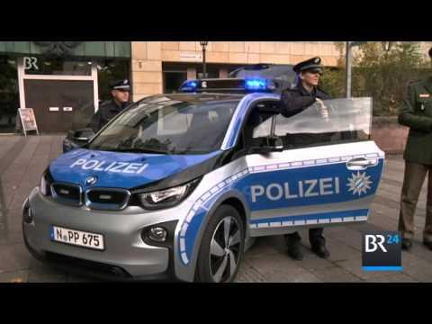 Erste Elektro Polizei Autos in Bayern