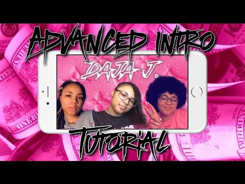 Advanced YouTube Intro Tutorial On IPhone ! 💗 (all Free Apps)