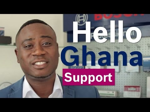 Bosch Security Systems Customer SUPPORT |  Hello Ghana