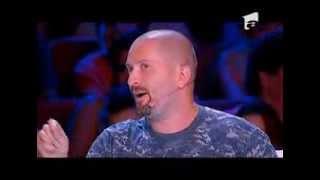 X Factor Romania - Cele patru versuri ale lui Cheloo despre stripperi. Cum a reactionat Bittman :)!