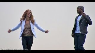 Incredible - Music Video Shoot with Celine Dion and Ne-Yo on 1/25/14