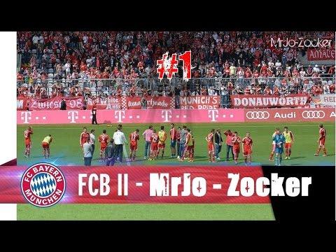 FIFA 16 KARRIERE - FC Bayern II Amateure - S01E01 - UNSERER Oberliga mit den FCB Amaturen | 60 FPS