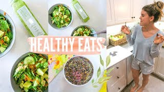 HEALTHY EATS + Toning Arm Workout! | Staying Fit + Strong!